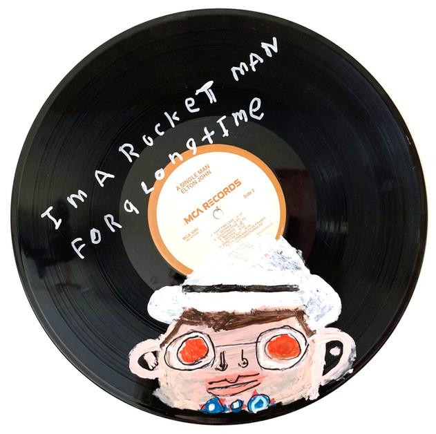 Elton John on Vinyl by Rick Fleming