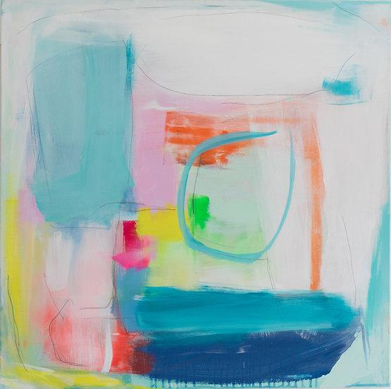 """Joyful Spring III"" by Charlie French"