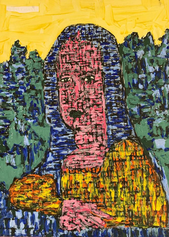 Mona Lisa by Ike Morgan