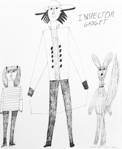 Inspector Gadget by Jennifer Williams