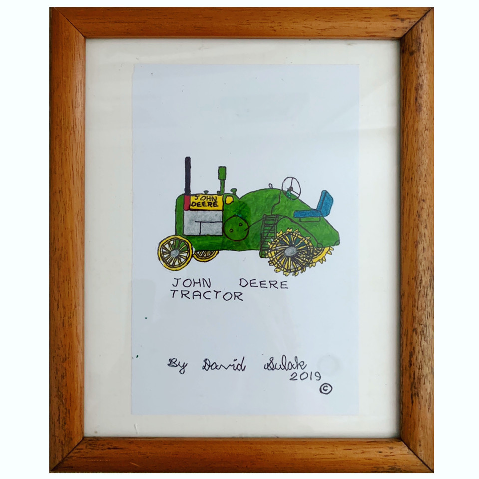 John Deere Tractor by David Sulak