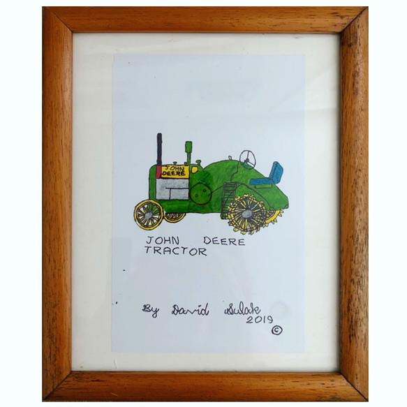 John Deere Tractor by David Sulak