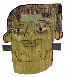 Frankenstein by Rick Fleming