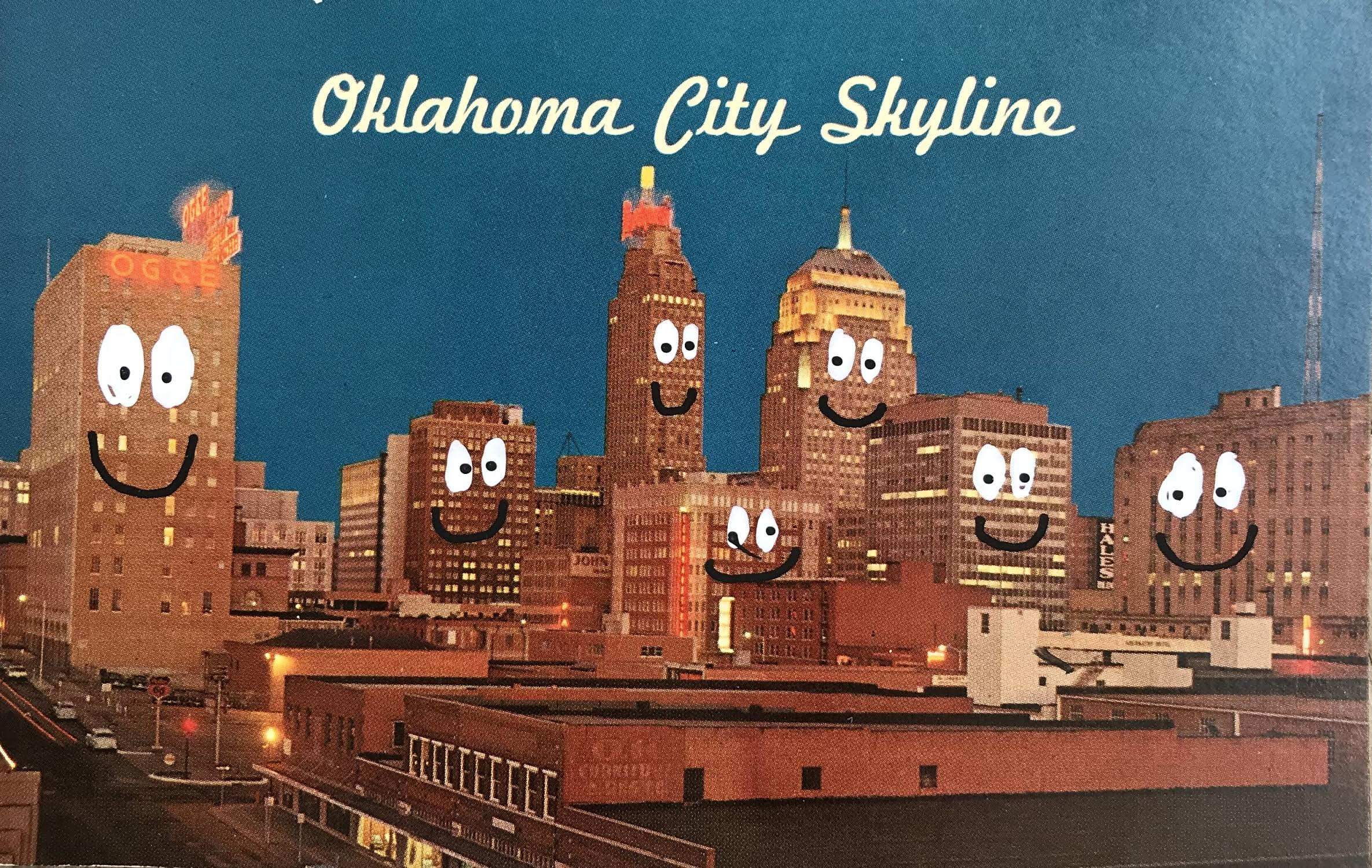 """Oklahoma City Skyline"""