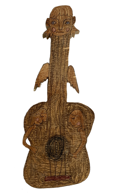 _Guitar with Faces_ by Jackson Sutton