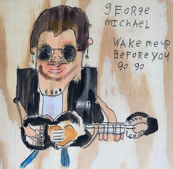 """George Michael"" by Rick Fleming Fine Art Print"