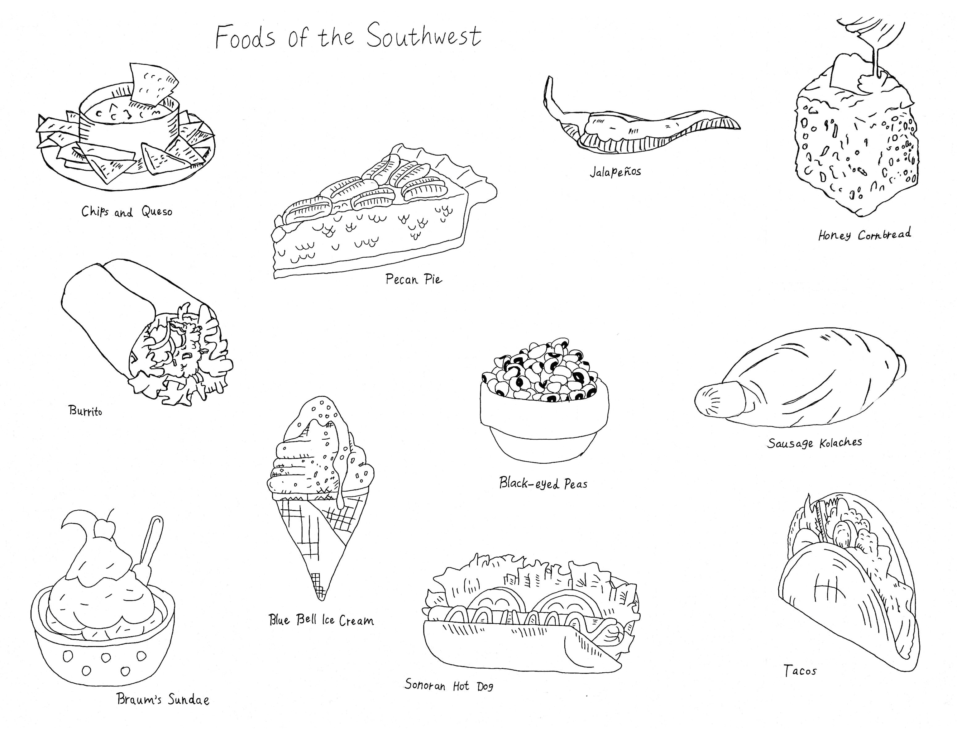 """""""Foods of the Southwest"""""""