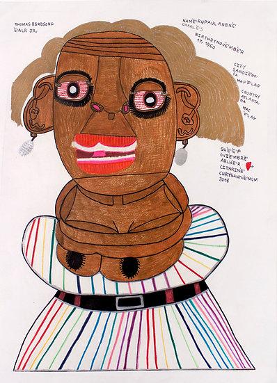 """RuPaul"" by Thomas Birdsong"