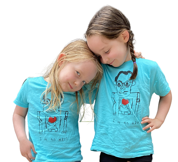 """Little Kids """"Keith Haring"""" Tee by Rick Fleming"""