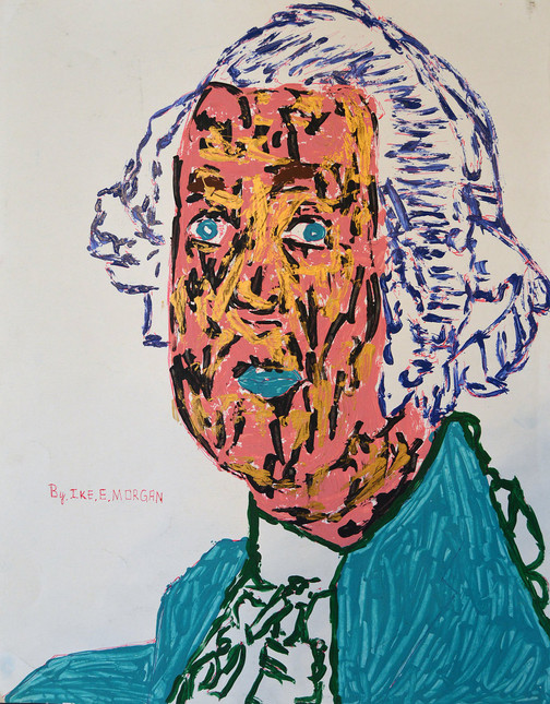 George Washington by Ike Morgan