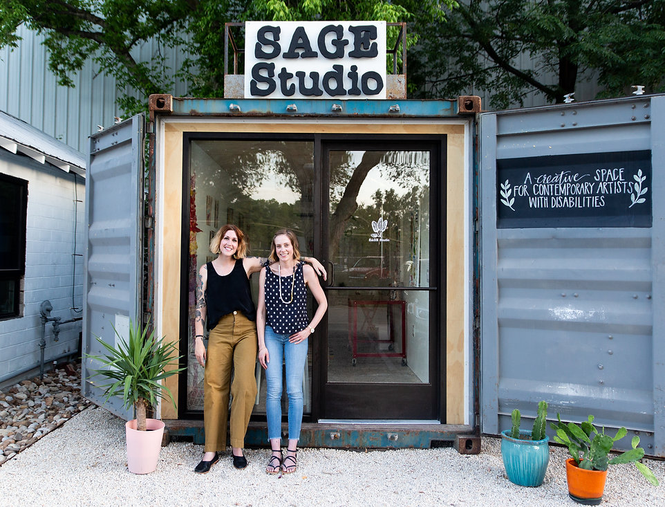 SAGE Studio Co-founders Lucy Gross and Katie Stahl