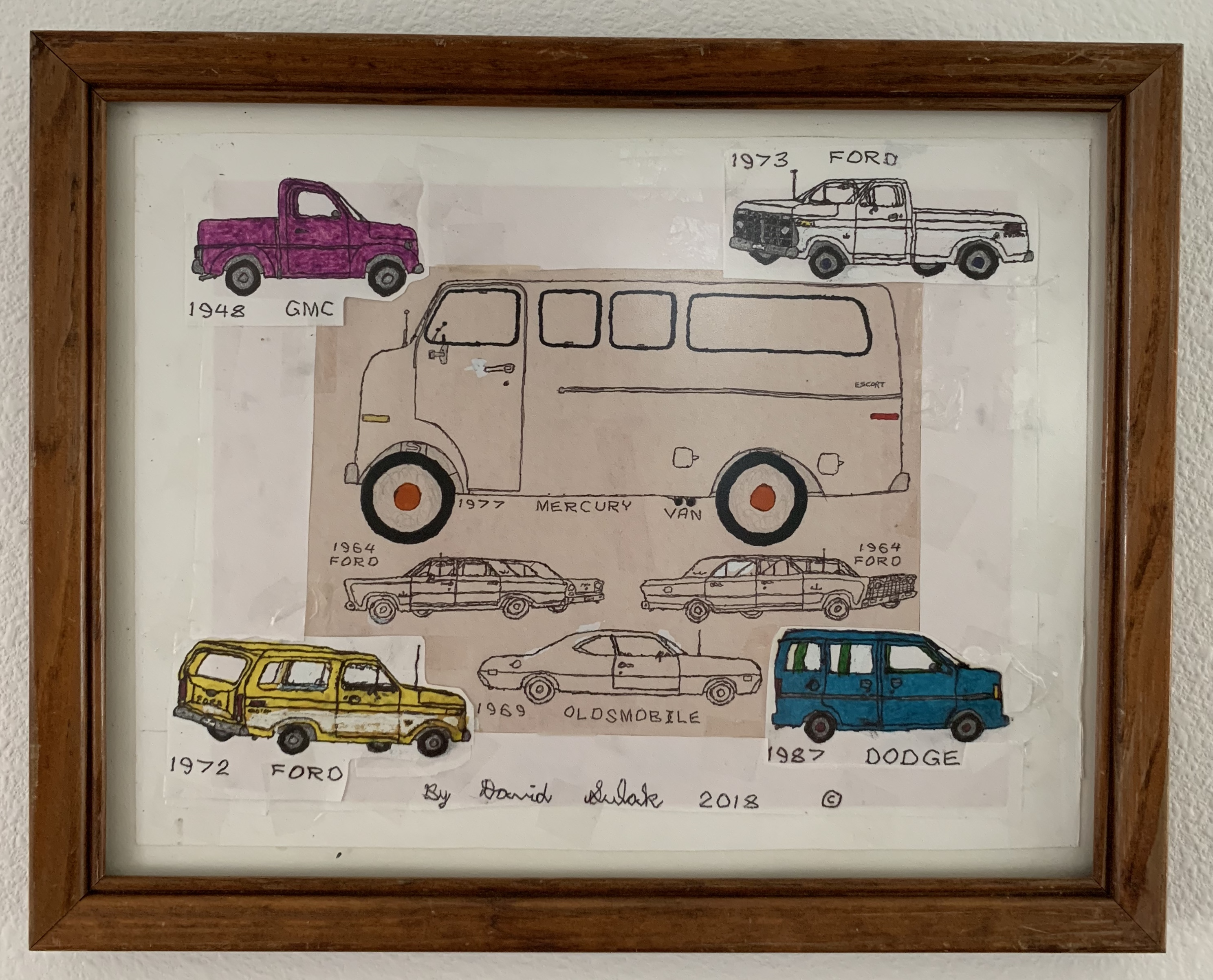 Van and Little Cars