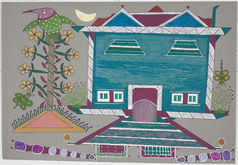 """Untitled (Bird & House)"" by Lien Nguyen"