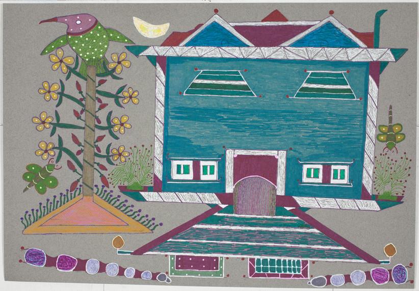 _Untitled (Bird & House)_ by Lien Nguyen