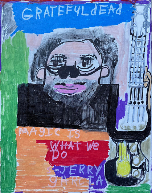 Jerry Garcia by Rick Fleming
