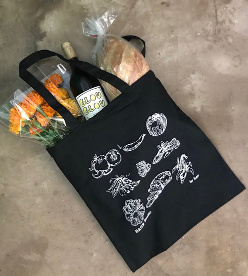 Gav Sears Food Tote Bag