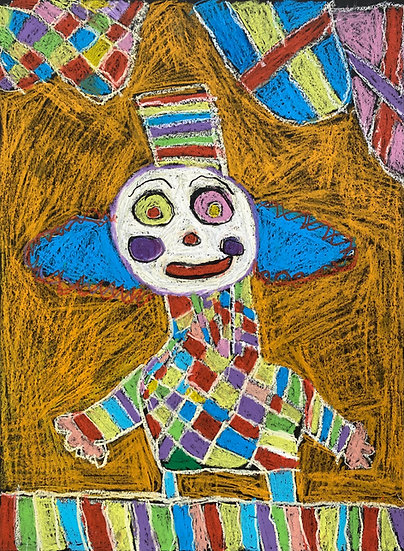 """""""Circus Clown"""" by Emily Dodson"""