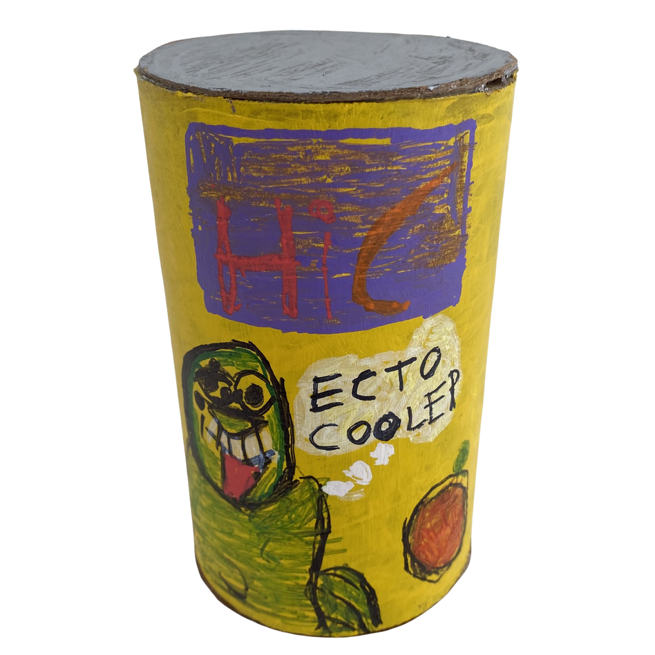 Ecto Cooler Can by Rick Fleming