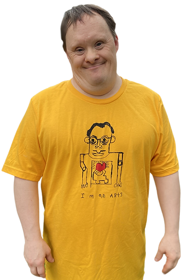 """Keith Haring"" Tee by Rick Fleming"