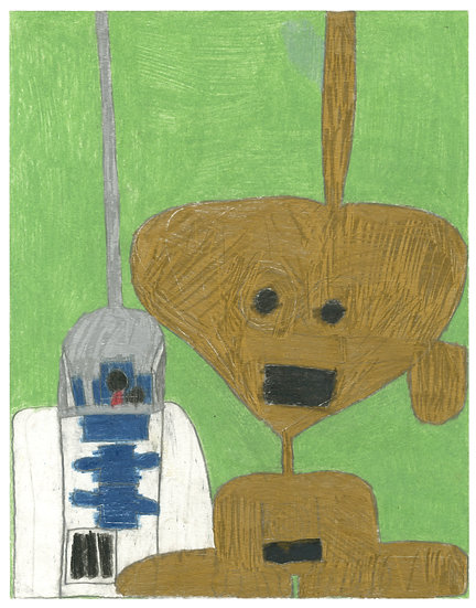 """""""R2-D2 & C-3PO"""" by Anthony Coleman"""