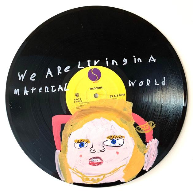 Madonna on Vinyl by Rick Fleming