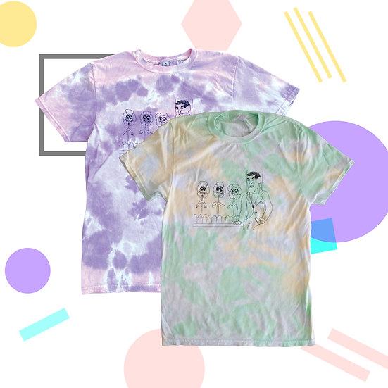 Pee-Wee Tie-Dye Shirt by Bayaht Ham