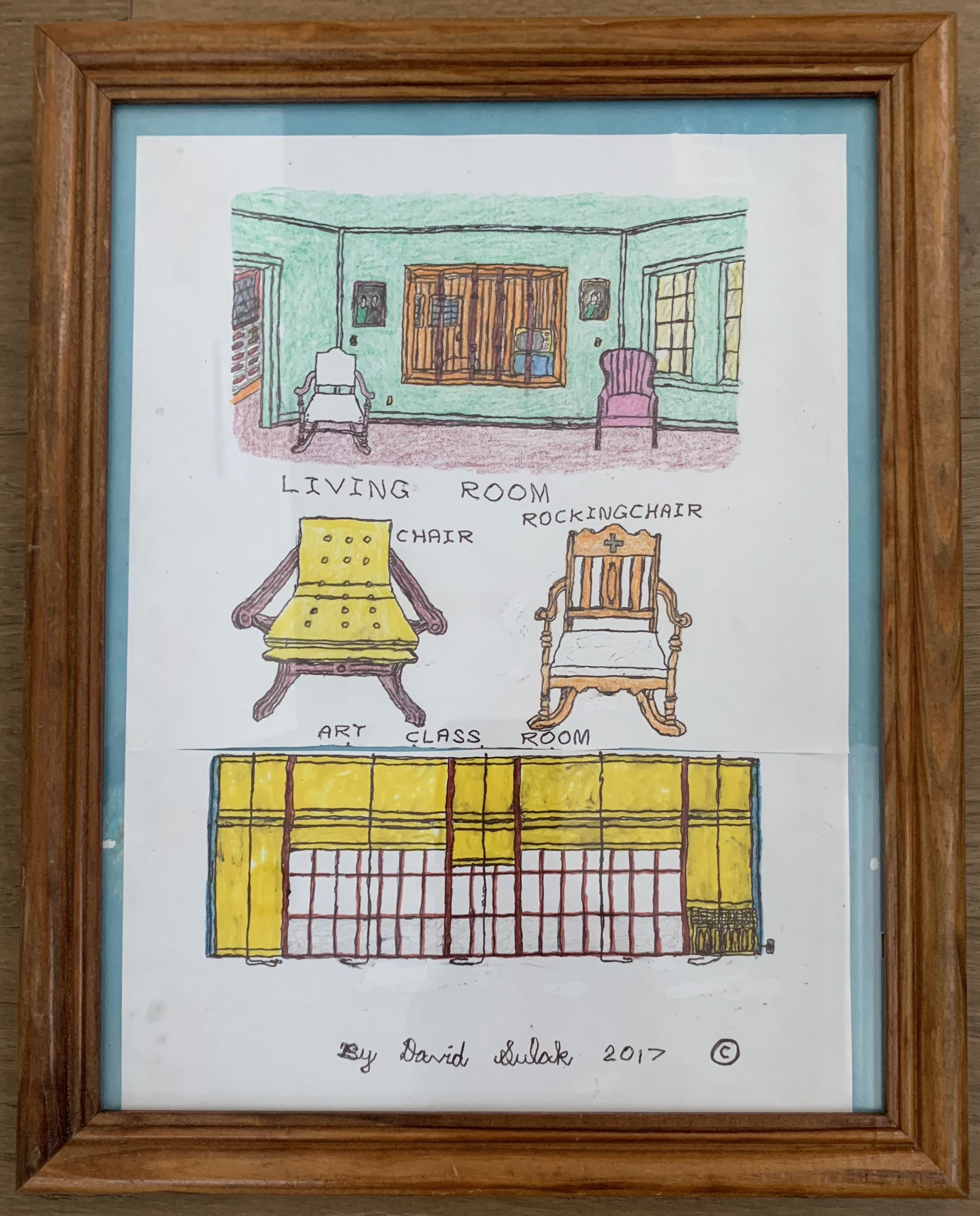 David Sulak_Living Room, Chairs and Art