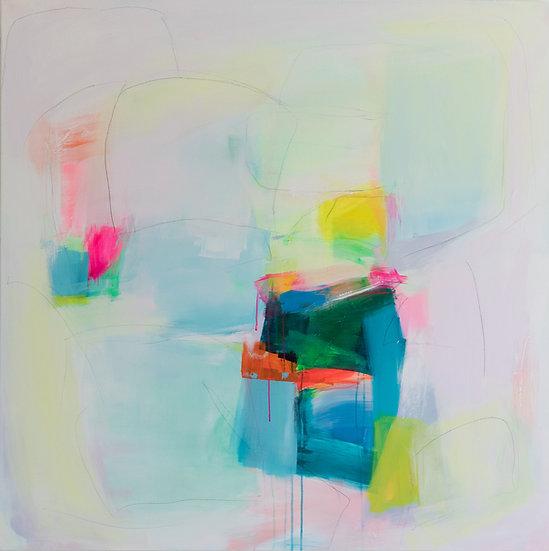 """""""Joyful Spring V"""" by Charlie French"""