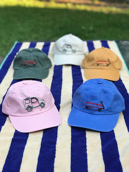 David Sulak x Leslie Cottrill Embroidered Hat