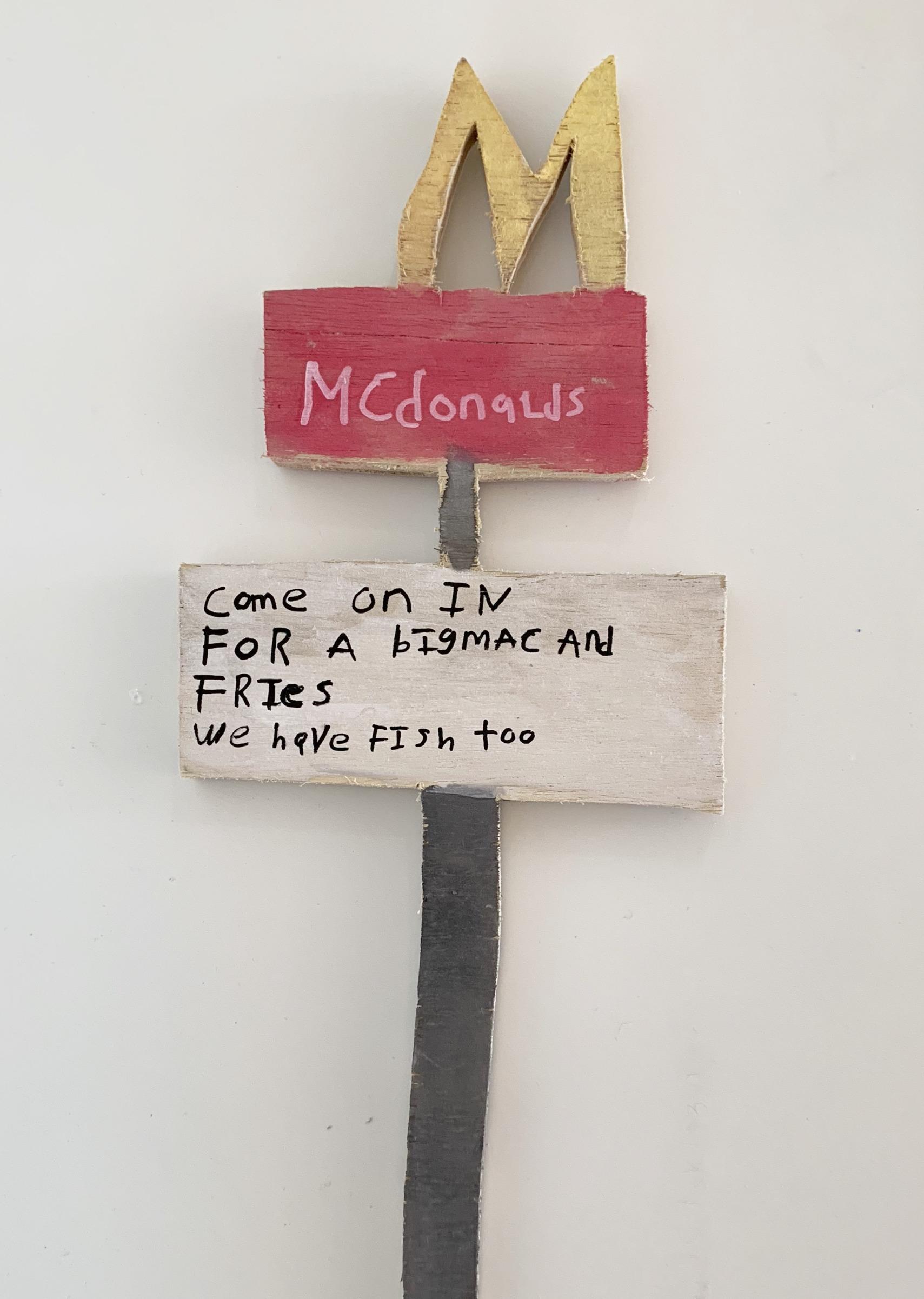 """McDonalds Sign"""