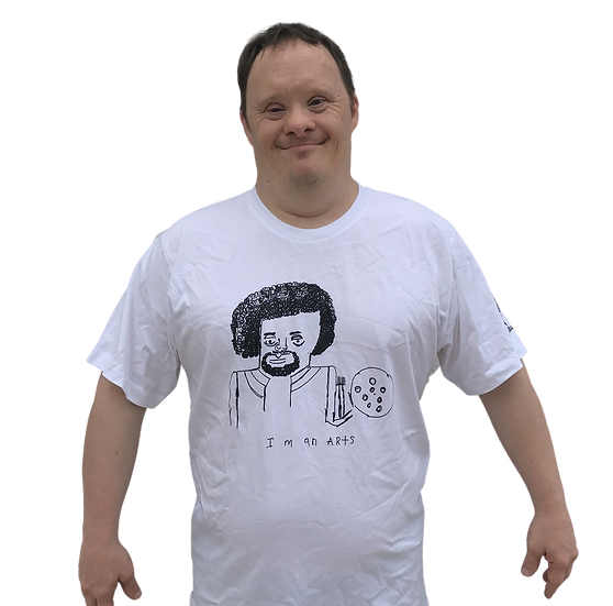 "Rick Fleming ""Bob Ross"" Tee"