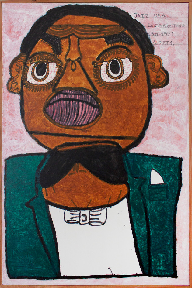 Louis Armstrong by Thomas Birdsong