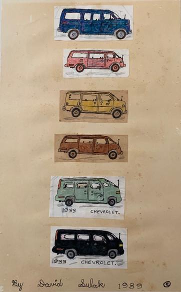 Stream of Cars by David Sulak