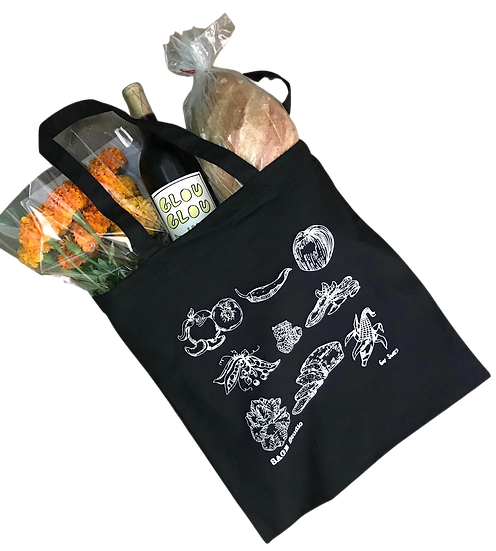 Food Tote Bag by Gav Sears