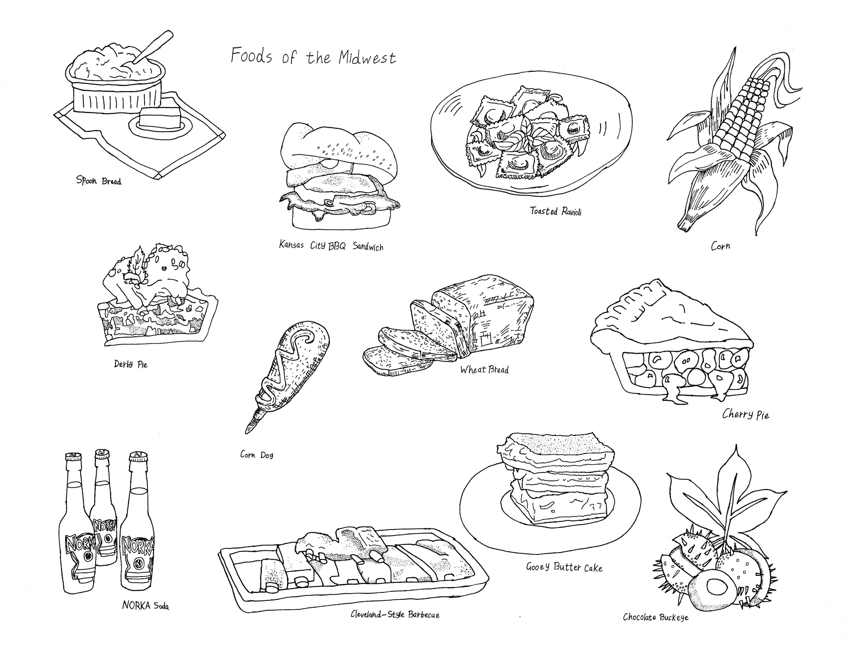 """""""Foods of the Midwest"""""""
