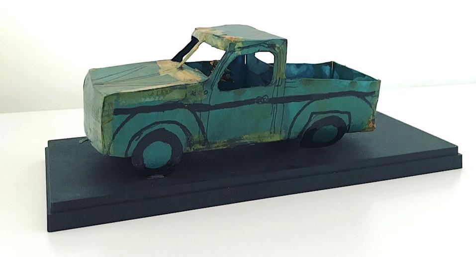 _Green Truck_ by David Sulak