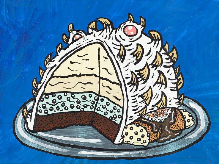 """Auntie Uulu's Polar Bake with Ice Cream Cannoli"" by Yukari Sakura"