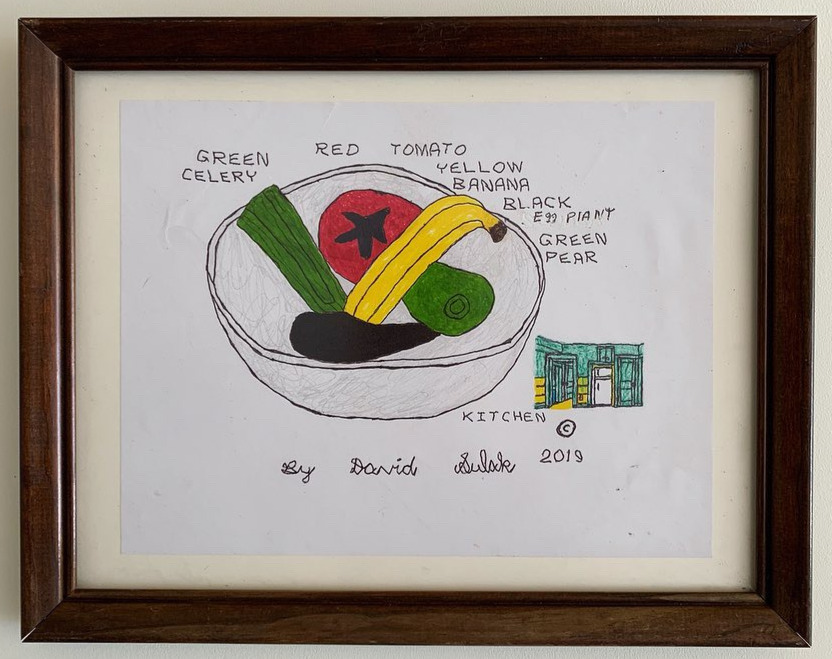 """""""Big Fruit Bowl and Little Kitchen"""""""
