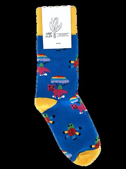 SPRING WORK Socks