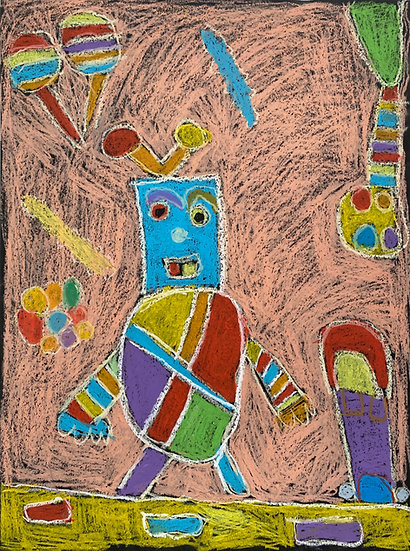 """Dancing Robot"" by Emily Dodson"
