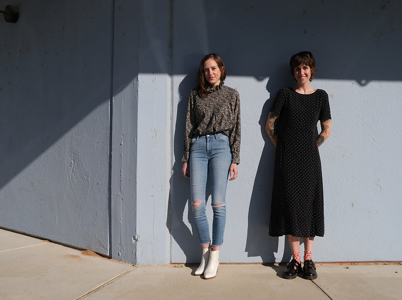 Katie Stahl and Lucy Gross