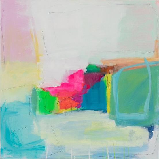 """""""Joyful Spring I"""" by Charlie French"""