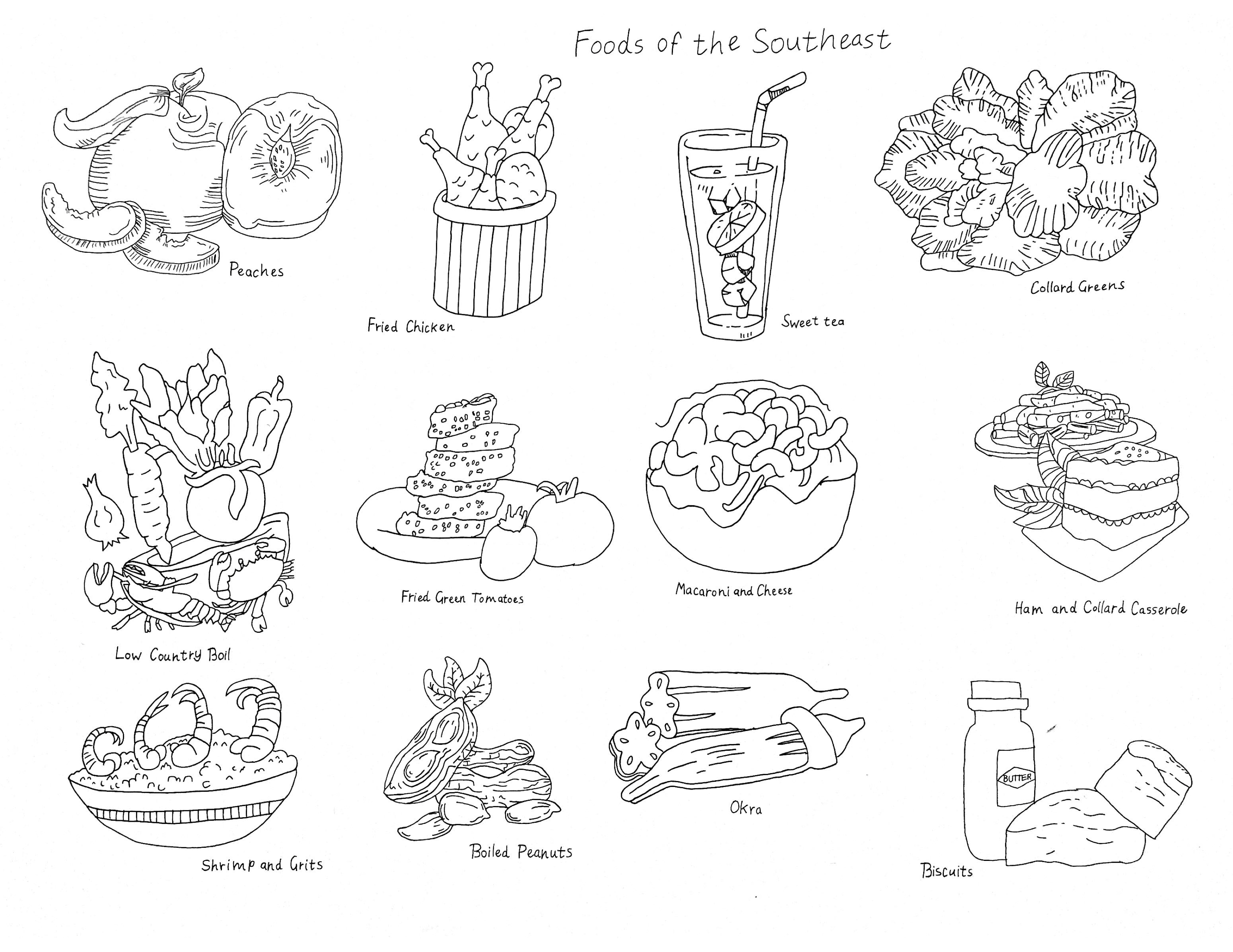 """""""Foods of the Southeast"""""""