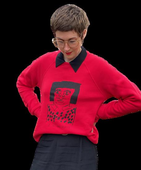 """""""Yayoi Kusama"""" Sweatshirt by Rick Fleming"""