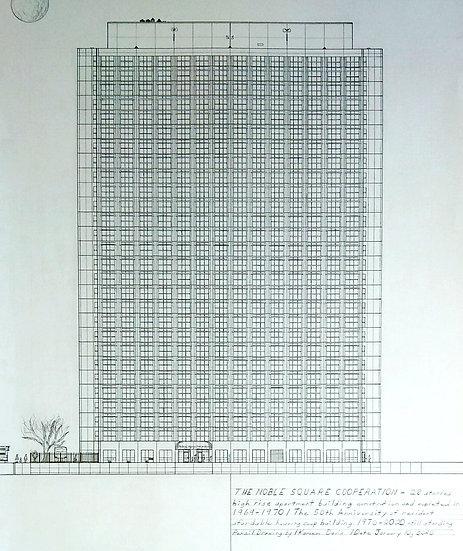 """Noble Square High-Rise Home"" by Kareem Davis"