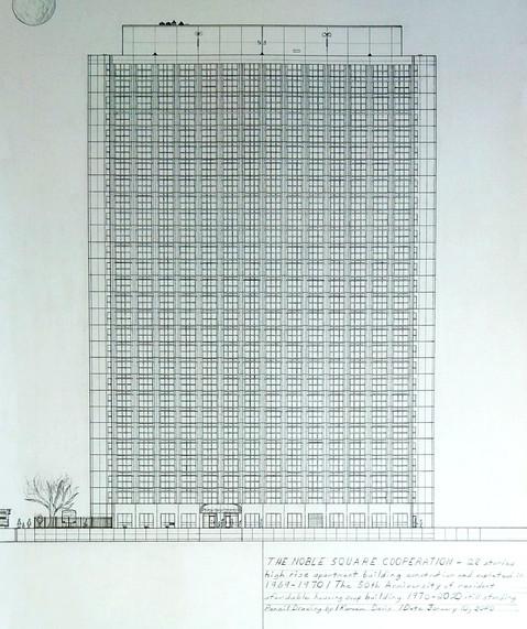 Noble Square High-Rise Home by Kareem Da