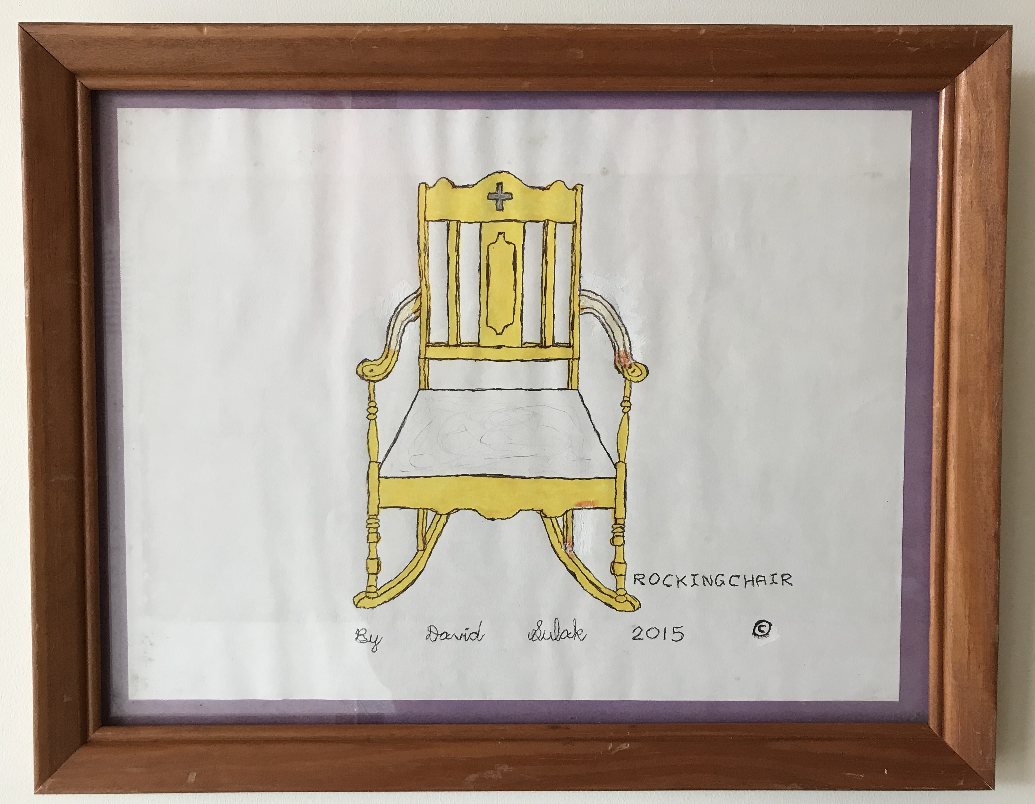 """Antique Rocking Chair"""