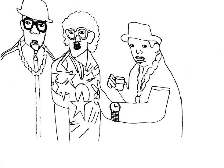 """Run DMC Weird Al"" by Bayaht Ham"