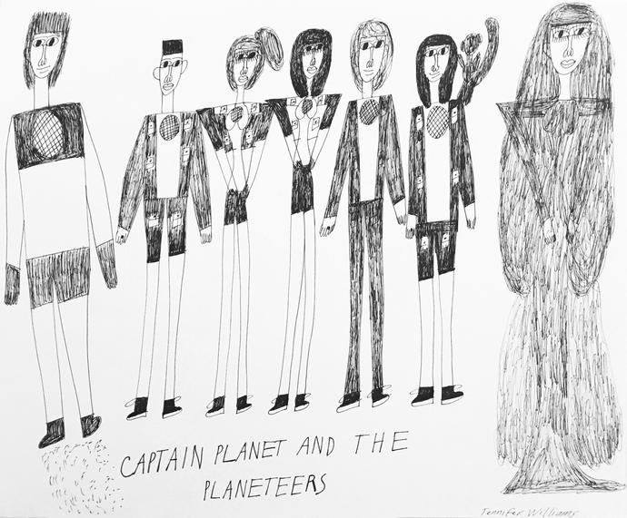 Captain Planet by Jennifer Williams