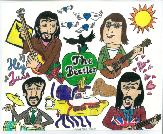 Beatles by Zachary Robey